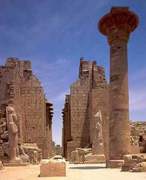 Kids will marvel at the huge columns of the Temple of Amun at Karnak