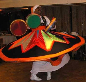 Whirling Dervish aboard a dinner cruiser