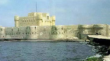 Fort Qaytbey in Alexandria
