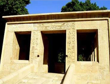 Senusret I's White Chapel in the Open Air Museum at Karnak
