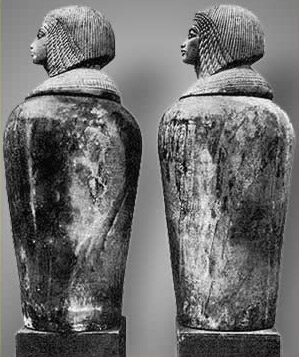 Canopic Jars from the tomb