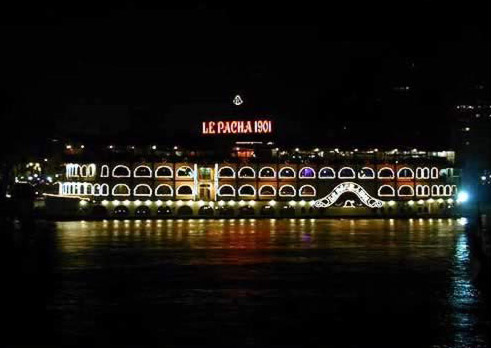 The Well Known Le Pacha 1901 Dinner Boat