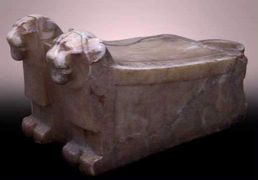 Alabaster Libation Table