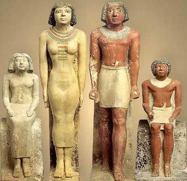 The family in Ancient Egypt