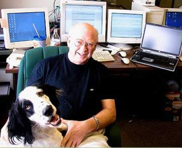 George and I in my Texas office, just now back home from my latest visit to Egypt