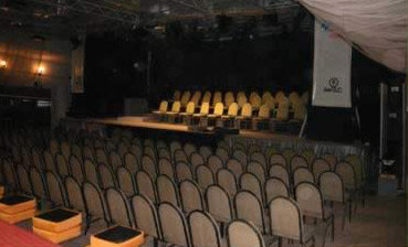 One of the El Sawy Cultural Center's two concert halls