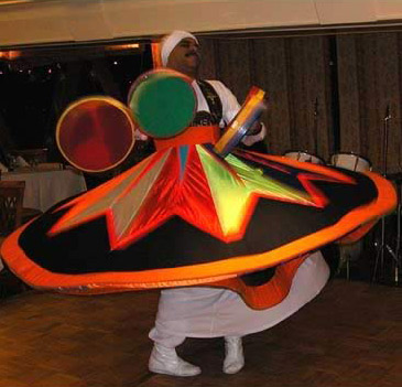 Whirling Dervish on the Nile Crystal