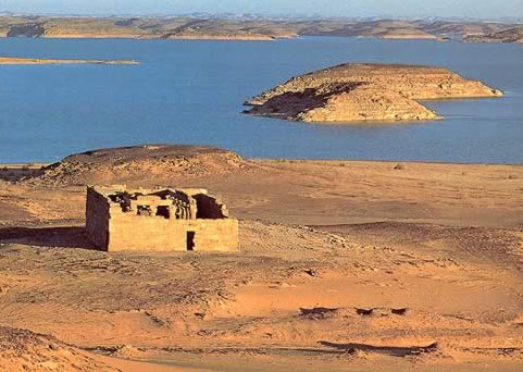 Lonely Nubian Temple (Temple of el-Maharraqa)