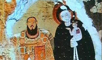 A Christian painting from Faras
