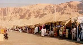 Another View of the Entry to the Valley of the Kings at Luxor