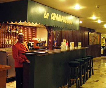 The Le Champelion Bar at the Mecure Hotel