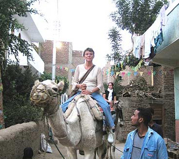 The West Bank by Camel