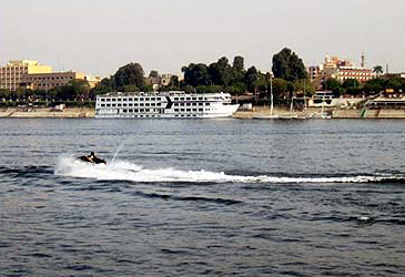 Jet Ski on the Nile