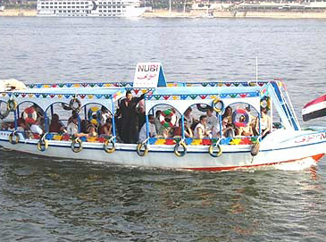 In Cairo, these are often called party boats and are most popular among the locals.