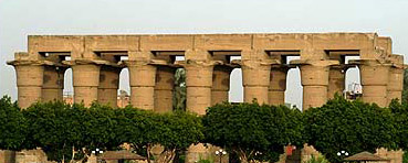 Luxor Temple as seen from the Nile (Photo by Calvin Todd)