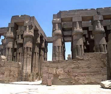 The Hypostyle Hall of Amenhotep III