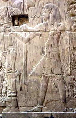 Tutankhamun participates in the Opet Festival on the walls of Amenhotep III's colonnade