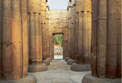 The Hypostyle Hall of Amenhotep III at the Temple of Luxor