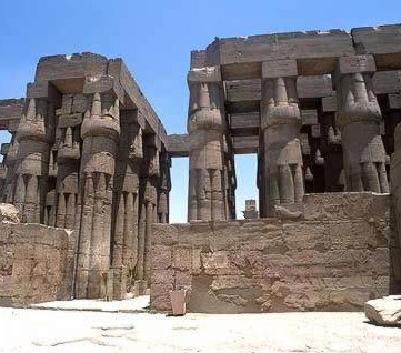 Another View of the Hypostyle Hall of Amenhotep III