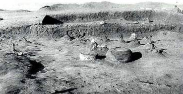 Excavation of a house at Maadi