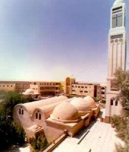 Abu Magar Moastery in      Egypt