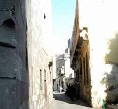View of Zeinab Khatoun House's Street facade from al-Azhari Alley.