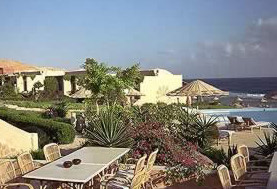 The Resort Area at Marsa Alam on the Southern Mainland Red Sea Coast of Egypt