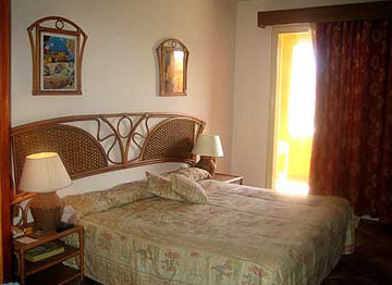 A room in the Amaraya resort in Marsa Alam
