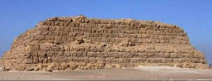 an analysis of mastabas to pyramids Saqqara features numerous pyramids, including the world-famous step pyramid of djoser as well as a number of mastabas (arabic word meaning 'bench'.