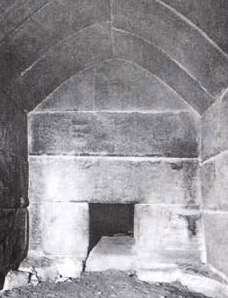 The burial chamber within Shepseskaf's Mastaba tomb