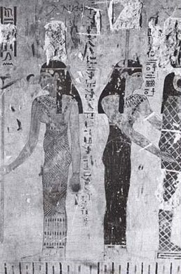A better tomp painting in the tomb of Si-Amun