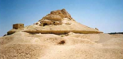 Another view of Gebel al-Mawta