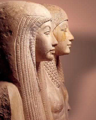 Maya and Meryet (from the reign of Horemheb)