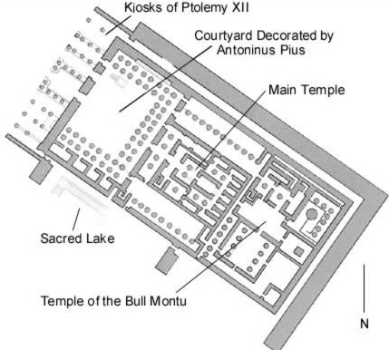 The Temple of Montu, Rattawy and Harpocrates at Medamud
