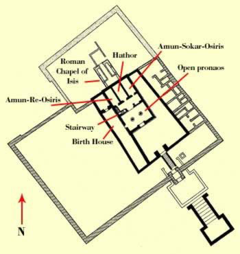 Plan of the Temple