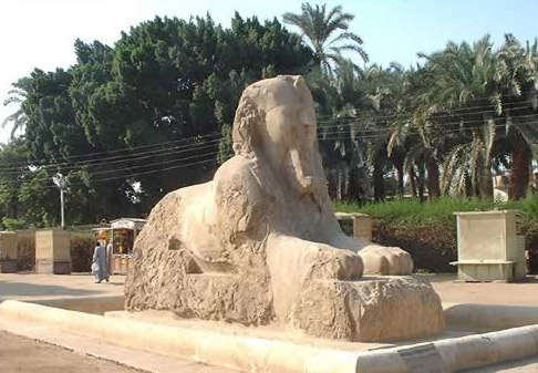 The Sphinx of Memphis