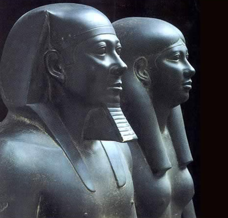 Fourth Dynasty King Menkaure and an Unknown Queen