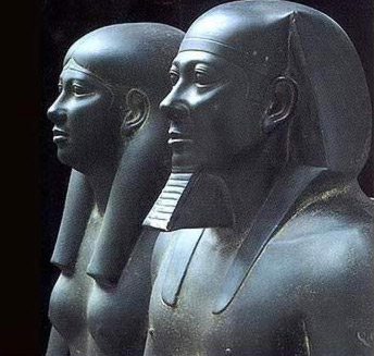 Menkaure and his Wife, Whameremebty II