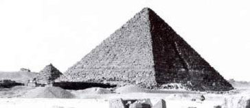 Menkaure's Pyramid at Giza