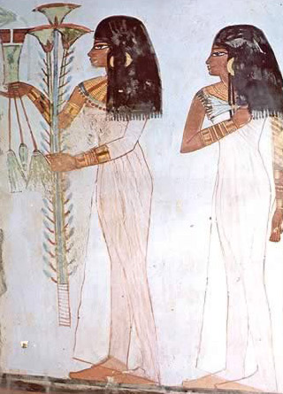 Girls in the Tomb of Menna