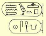 The Cartouches of Mentuhotep III