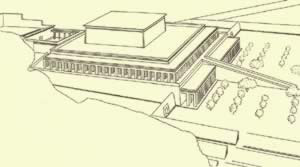 Another Idea of how the Mortuary Temple Complex of Mentuhotep II  might have looked in ancient times