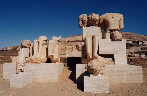 Open Air Museum at the Merenptah Temple