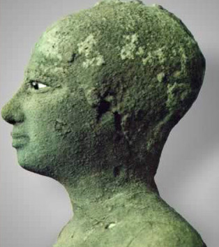 The copper statue found with a much larger copper statue of Pepi I has long been assumed to be of Merenre and a boy or young man.  However, it has been questioned lately whether it is instead a statue of Pepi II.
