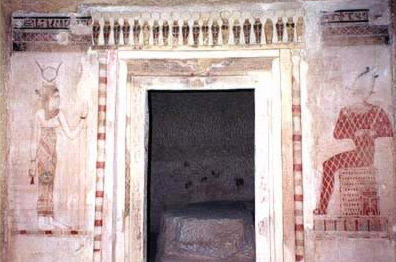 Entrance to the Tomb of Mesu-Isis