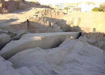 The Unfinished Obelisk at Aswan (Photo by Yingchi Chen)
