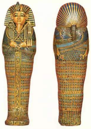 Miniature Canopic Coffin
