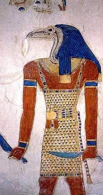 A demon from the tomb in the Valley of the Queens, Thebes