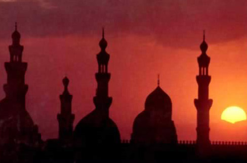 Minarets at Sunset