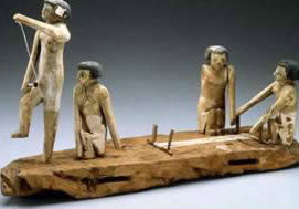 Model of weavers from the Middle Kingdom